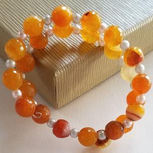 Jewelry - Citrus Burst Wrap Bracelet